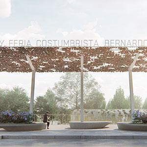 Reposición Plaza Bernardo O´Higgins y construcción feria costumbrista