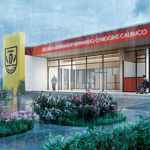 Escuela Libertador Bernardo O´higgins, Calbuco
