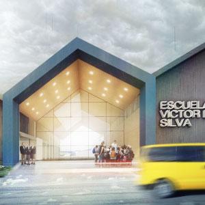 Reposición Parcial Escuela Víctor Domingo Silva de Coyhaique