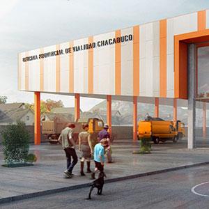 Oficina provincial Vialidad de Chacabuco